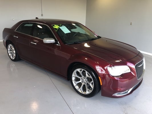 2016 Chrysler 300c Platinum In Milledgeville Ga Five Star Toyota Of