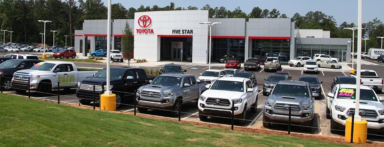 Car Dealerships In Macon Ga >> Toyota Dealer Serving Macon Ga Drivers Five Star Toyota